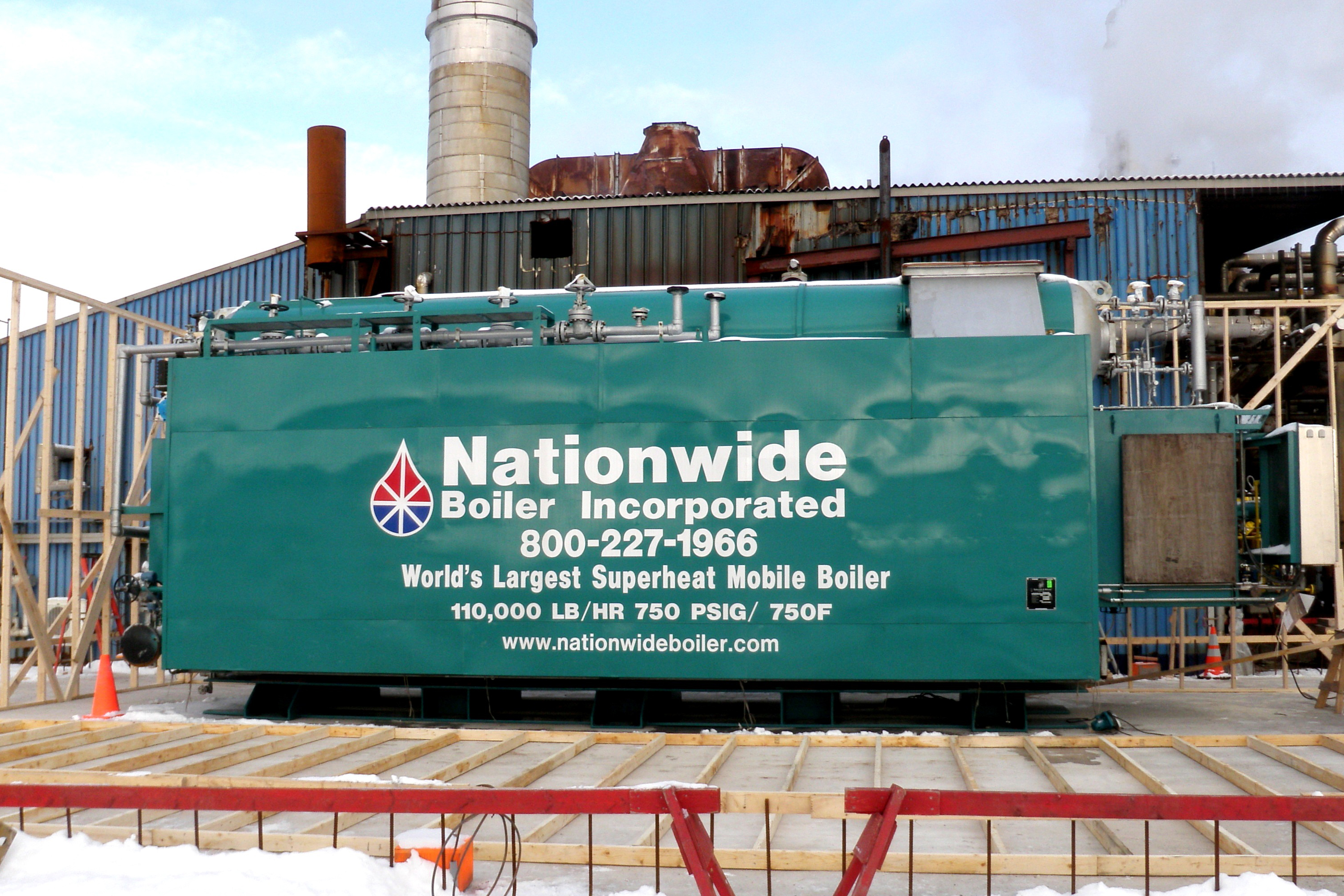New 110,000 lb/hr Superheat Boiler Provides Increased Steam Capacity ...