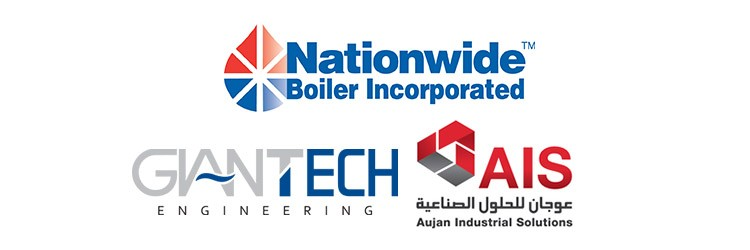 Nationwide Boiler - Giantech - Aujan Logos