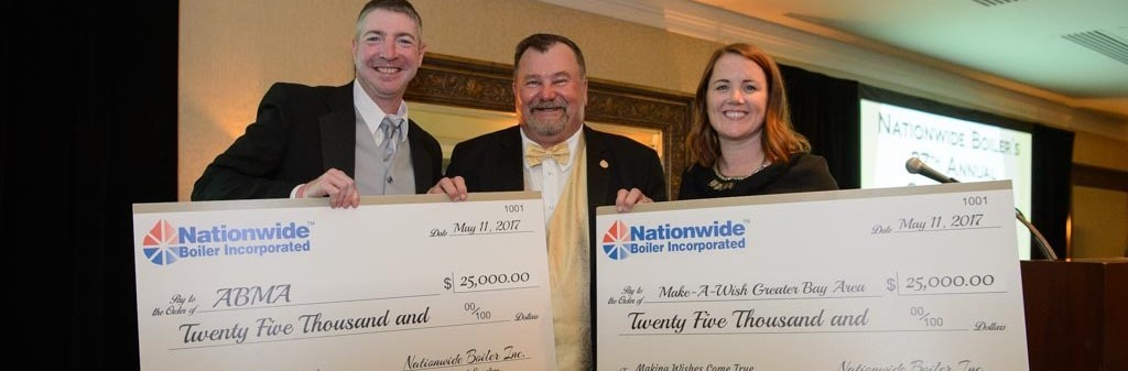 Nationwide Boiler 2017 Fundraiser Donation