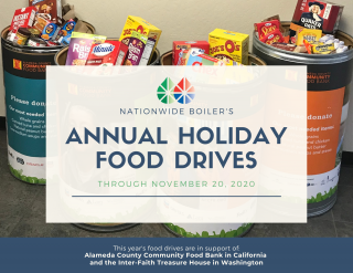 NBI Annual Holiday Food Drives