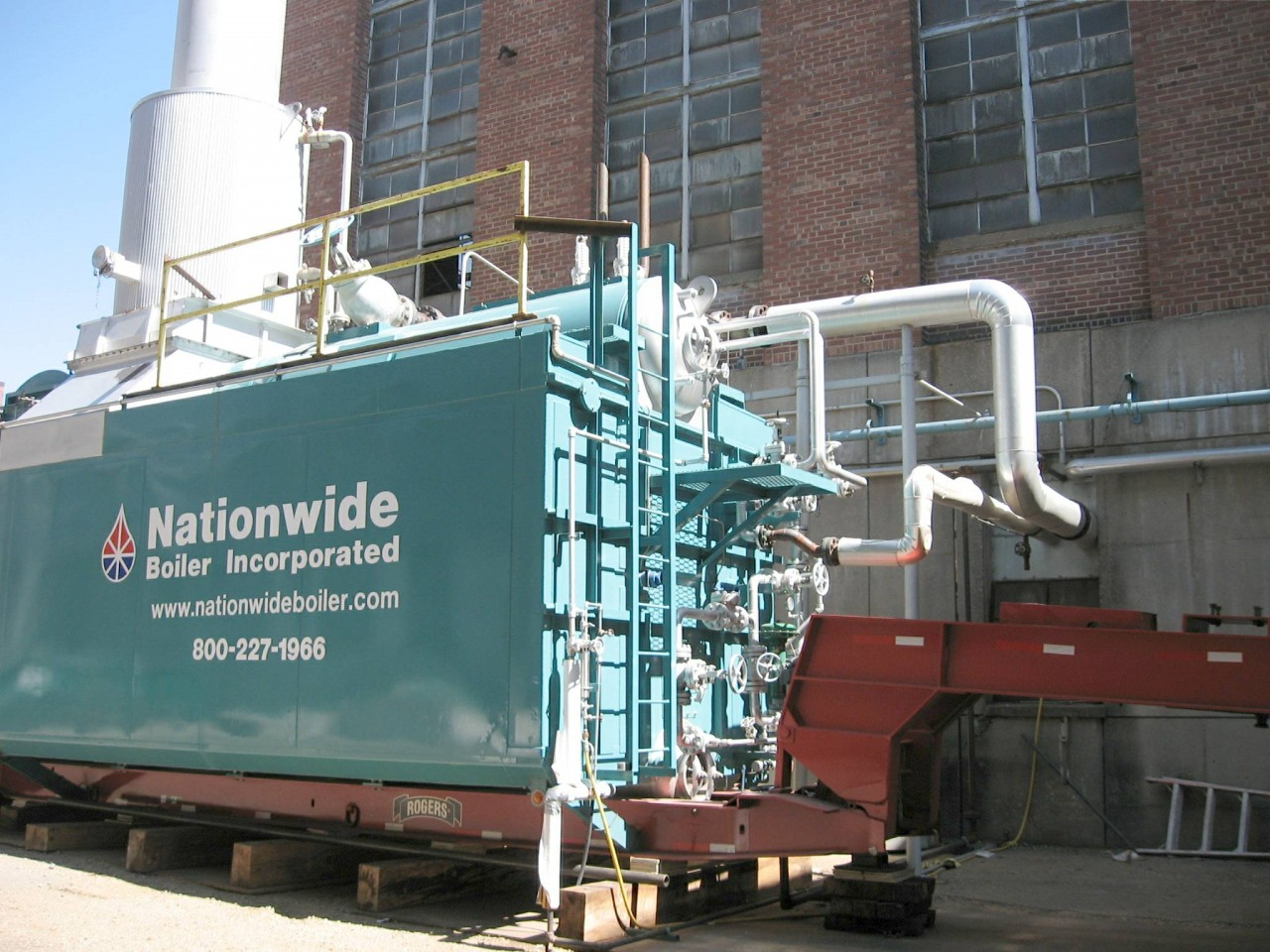 Temporary Boiler Rentals Keeps Mills Operating During Boiler Fuel Conversion Projects