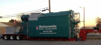 Two New 70,000 lb/hr Trailer-Mounted Boilers Added to Rental Fleet