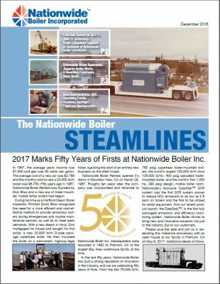 Last Edition of Steamlines Newsletter for 2016