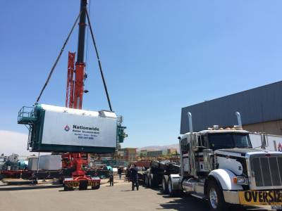 Rental Boiler Requires 350 Ton Crane for Loading!
