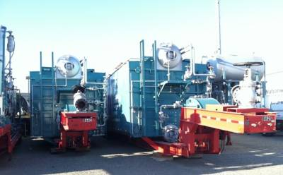 Trailer-Mounted Rental Boilers Headed to the Midwest for Use during Annual Maintenance Shutdown