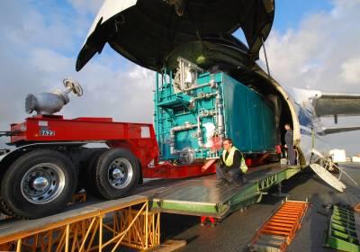 Boilers Take Flight on the Antonov