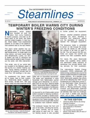Winter 2014 Steamlines Newsletter Released